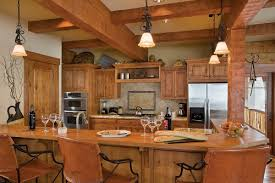 beautiful artistic log cabin kitchen designs ideas and decors