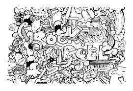 Doodle Coloring Book Free Download