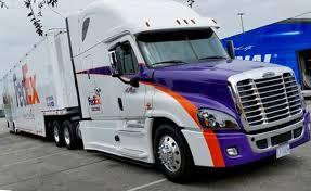 100 Fed Ex Trucking Hauler Transporter Freightliner Cascadia NASCAR Toyota