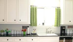 Cabinet Curtains Ideas For Kitchen With White Set Curtain Burlap