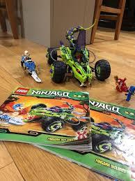 100 Fangpyre Truck Ambush Lego Ninjago 9445 In Juniper Green
