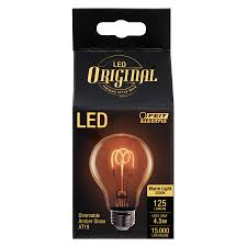 125 lumen led vintage at19 feit electric