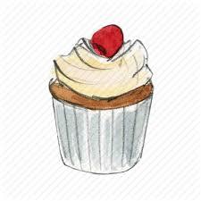bake berry cake cupcake dessert sweet vanilla icon