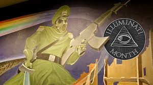 Denver Airport Murals Conspiracy Theory by The Denver Airport Will Be A Paradise After Our Nuclear Holocaust