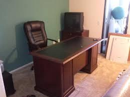 Sauder Office Port Executive Desk by Sauder Heritage Hill Executive Desk