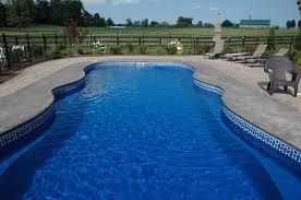 home fiberglass swimming pool tiling
