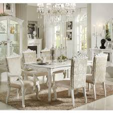 All White Dining Sets