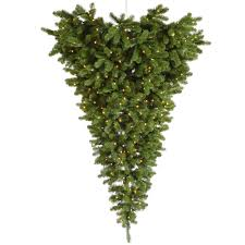 9 Ft Artificial Unlit Christmas Tree by Upside Down Christmas Tree Upside Down Xmas Trees