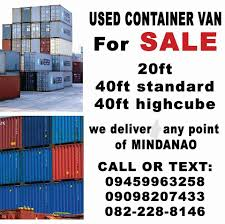 100 40 Foot Containers For Sale Container Van Davao City Home Facebook