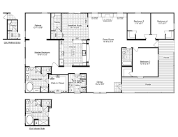 Triple Wide Modular Homes Floor Plans by 4 Bedroom Double Wide Mobile Home Floor Plans View The Evolution