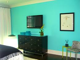bedroom interesting turquoise living room feature wall