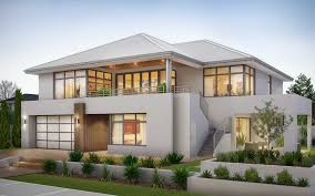 100 Contemporary Homes Perth South Reverse Living 2 Storey Home By Wishlist