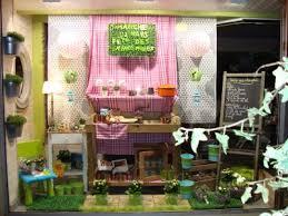 vitrine fete des meres fleuriste maître artisan fleuriste vitrine fête des grand mères
