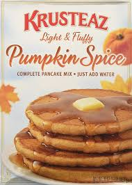 Ihop Halloween Free Pancakes 2014 by Amazon Com Krusteaz Pumpkin Spice Pancake Mix Muffin Mixes