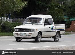 100 Mazda Mini Truck Chiangmai Thailand July 2018 Private Car Family Pick