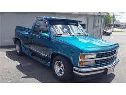 100 Chevy Stepside Truck For Sale 1993 Chevrolet Silverado 1500 Choo Choo Customs Pickup For