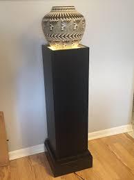 Lighted Display Pedestal Art