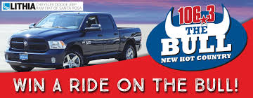 100 Win Truck A Ride On The Bull 1063 The Bull