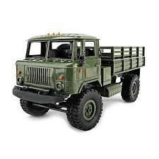 100 Electric Mini Truck 116 24G DIY Off Road RC Military Four Wheel Drive 10km