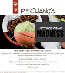 P.F. Changs Coupons 🛒 Shopping Deals & Promo Codes December ...