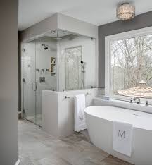 pictures of master bathrooms with walk in showers image of