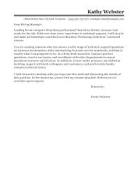 best help desk cover letter exles livecareer