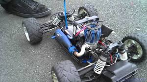 Traxas Nitro Fuel RC Car Without Shell - YouTube