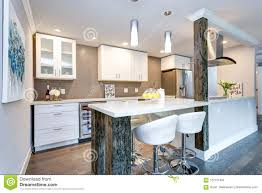 100 Small Modern Apartment White Kitchen In Stock Photo Image