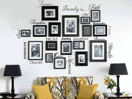 Wall Mural Decals Amazon by Amazon Com Picture Collage Words Family Wall Decal Set Of 20