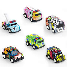 100 Metal Fire Truck Toy Amazoncom Pull Back Vehicles Diecast Cars Police Car