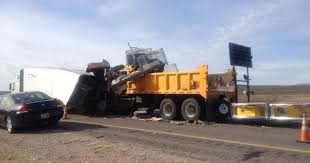 100 Interstate Truck Equipment Driver Seriously Injured In 15 Accident