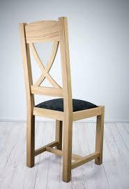 chaise en ch ne massif chaise olivier en chêne massif de style cagne assise tissu