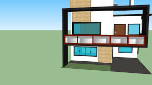 104 Modern Dream House 2 Storey 3d Warehouse