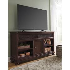 W657 68 Ashley Furniture Xl Tv Stand W fireplace Option