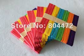 DIY TOY Color Stick Small Craft Educational Toys Ice Cream For Children