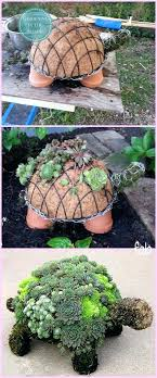 Diy Garden Projects Succulent Turtle With Pallets
