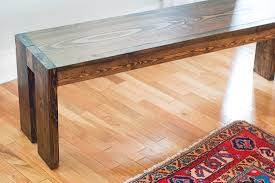 a really simple diy bench but not for us