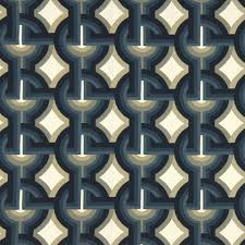 Navy Geometric Pattern Curtains by Navy Blue Geometric Upholstery Fabric Contemporary Blue