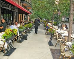 Outdoor Cafe And Restaurant Seating Enlivens The Pedestrain Realm