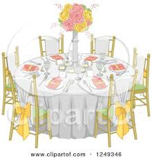 Kitchen Table And Chairs Clip Art Inspirational School Round Clipart