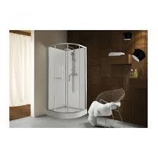 cabine de quart de rond portes coulissantes transparentes