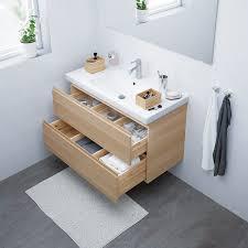 godmorgon odensvik waschbeckenschrank 2 schubl eicheneff