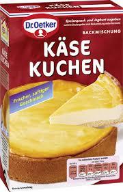 dr oetker käse kuchen