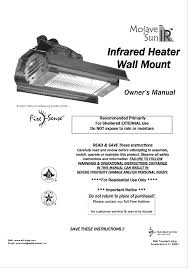 Fire Sense Deluxe Patio Heater Instructions by Well Traveled Living Patio Heater Ms 1500 User Guide