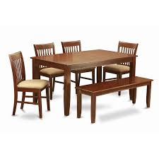 East West Furniture DUNO6D-MAH-C Mahogany Finish 4-chair And Dining ... Shop Psca6cmah Mahogany Finish 4chair And Ding Bench 6piece Three Posts Remsen Extendable Set With 6 Chairs Reviews Fniture Pating By The Professionals Matthews Restoration Tustin Chair Room Store Antoinette In Cherry In 2019 Traditional Sets Covers Leather Designs Dark Superb 1960s Scdinavian Design Rose Finished Teak Transitional Upholstered Mahogany Ding Room Chairs Lancaster Table Seating Wooden School House Modern Oval Woptional Cleo Set Finish Home Stag Extending Table 4