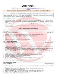 People Management Sample Resume