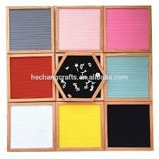Black Frame Letter Board Gray Felt Mod Collection