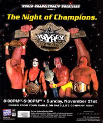 Wcw Halloween Havoc by This Day In Wcw History Wcw Mayhem 1999 Took Wcw Worldwide