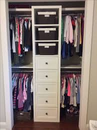 Small Shared Girls Closet Built In Redo More