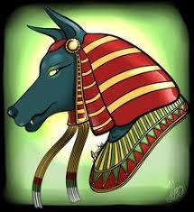 First Anubis Drawing by BehindtheVeilviantart on